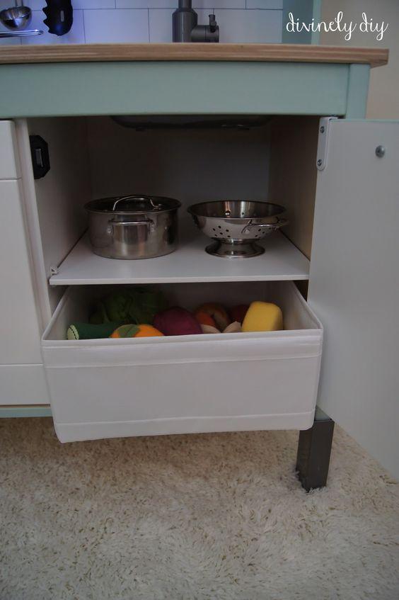 Diy Ikea Duktig Kok : Storage bins, The ojays and Drawers on Pinterest