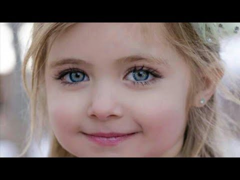 اجمل بنات في العالم اجمل اطفال صغار مع انشودة قمروة سيدنا النبي Youtube Beauty Images Beauty Image