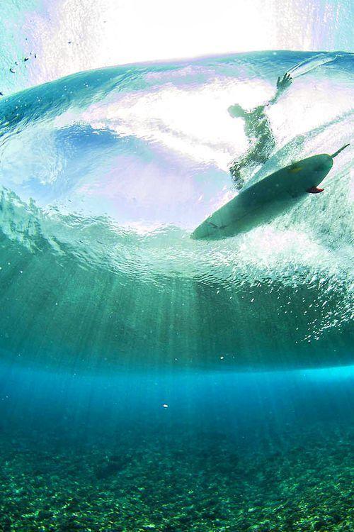 海からみたサーフィン