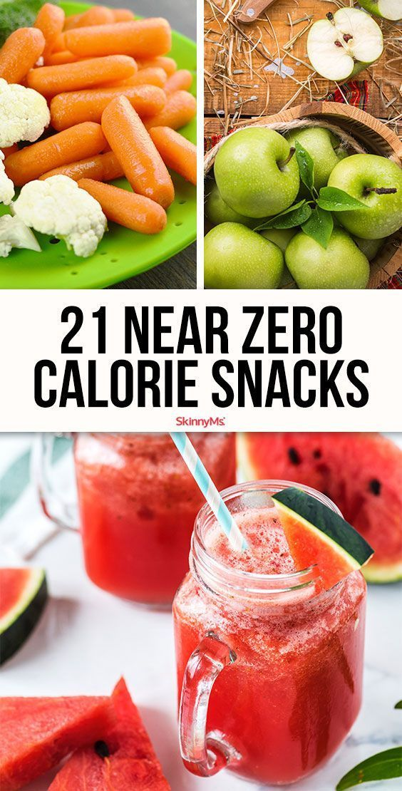 21 Near Zero Calorie Summer Snacks