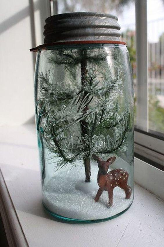 Stunning Christmas Decor Ideas With Farmhouse Style For Living Room 18