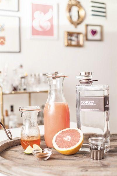 Passion Fruit Mojitos | Lillet Rose Spring Cocktail | Lavender ...