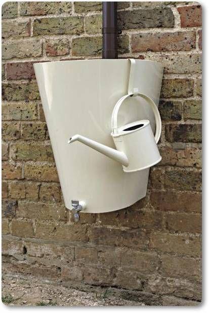to water the garden fab rain barrel