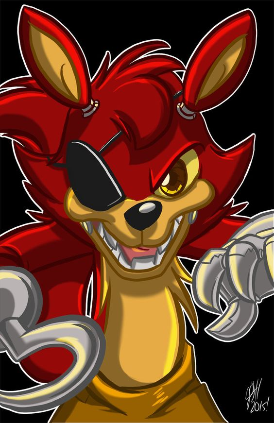 Foxy the Pirate by joshuadraws on DeviantArt