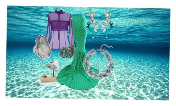 """Ariel"" by katherineinsley-candi on Polyvore featuring Space Style Concept, Tasha and Chloe + Isabel"