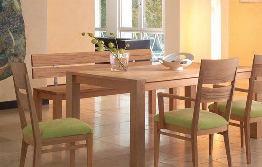 Minimalist Wooden Dining Table Contemporary Wooden Dining Table