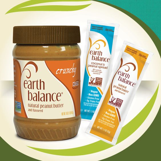 Earth Balance Nut Butter Crew vegan, plantbased, earth balance, made just right