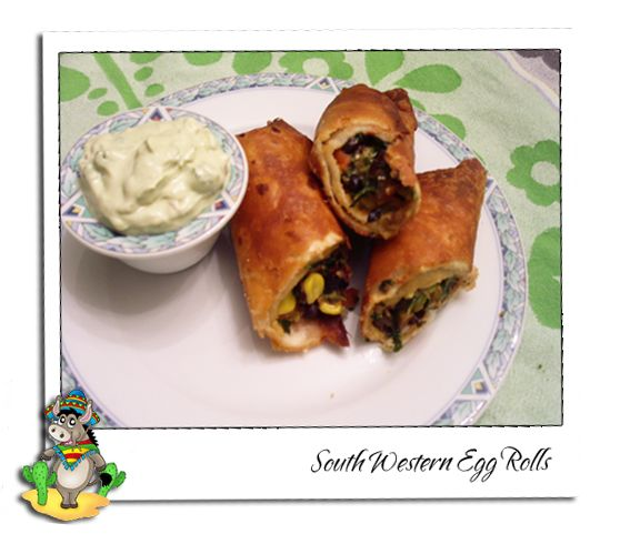 Chili's South Western Egg Rolls