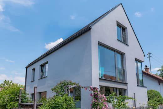 Moderner Neubau Einfamilienhaus In Weilheim Bayern Einfamilienhaus Architekt Style At Home