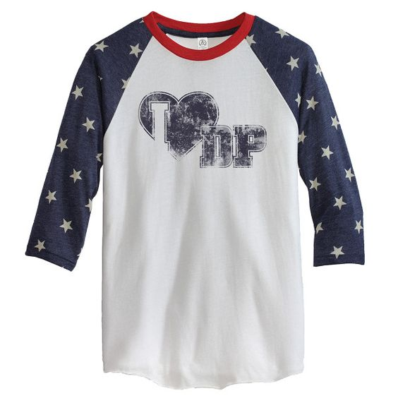 Danica Patrick EXCLUSIVE 3/4 Sleeve Stars T-shirt - $38.99