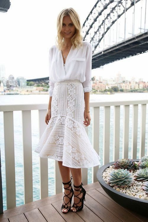 white on white, intricate detail, lace-up shoes, spring style, spring outfit inspo