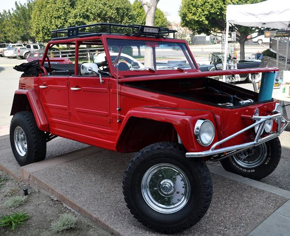 An off roading VW Thing