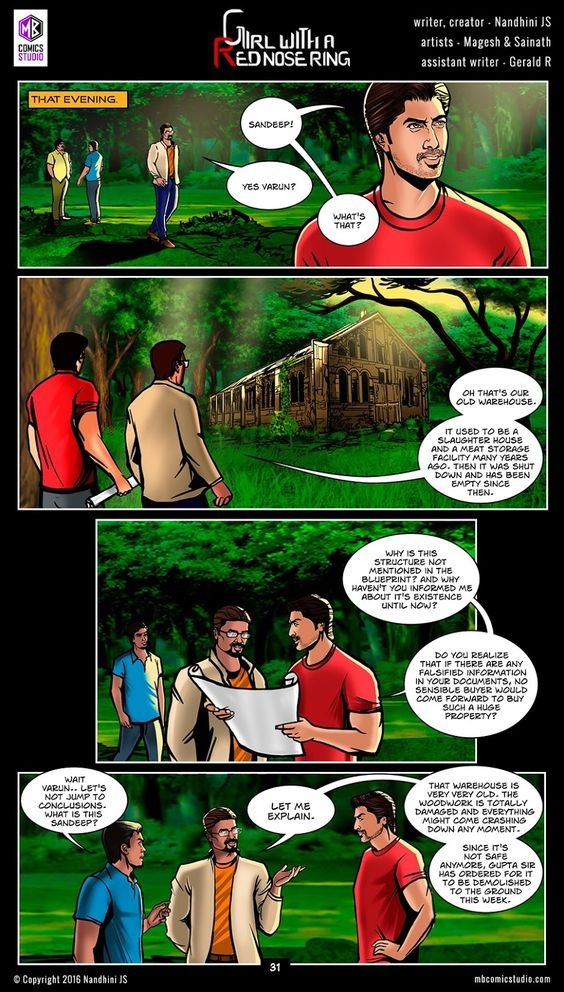Page 31 - Nandhini's 'Girl with a Red Nose Ring' Comics. (read free comics online, romantic books by indian authors, romantic books for teenegers, horror books in english, best place to download comic books online, comic books for children, comics for children, comics for kids, comic books for kids, best site to download comics, comic books download pdf, graphic novels for adults, graphic novels for children, graphic novels and comics, indian comic books, comic books india, webcomics