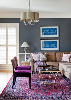 Madison - traditional - family room - other metro - by Andrea Brooks Interiors