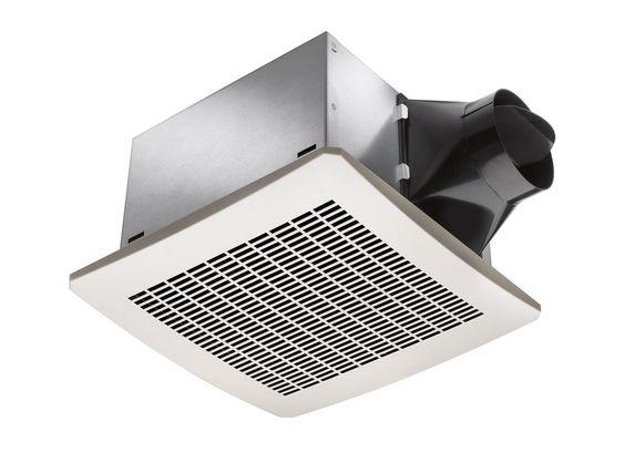 Delta Electronics VFB25AEH White Breez 130 CFM Humidity Sensor