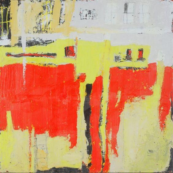 coercive spaces - Molly Geissman - Mixed Media Painting