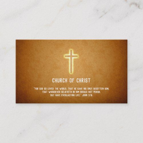 Pin On Christian Business Card Templates Custom Personalized Design