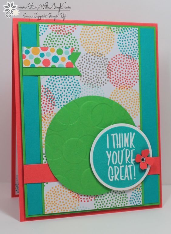 Stampin' Up! I Think You're Great Lots of Dots Sneak Peek | Stamp With Amy K