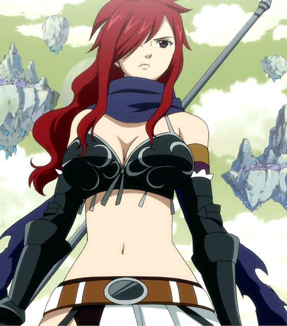 Erza Knightwalker, j'ai toujours pensé qu'elle est plus belle que l'autre Erza