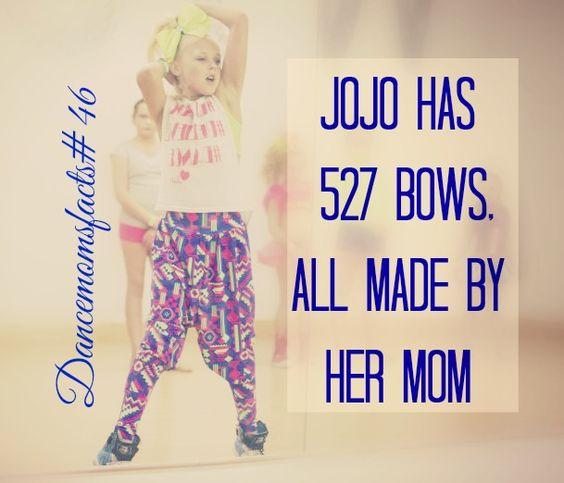 And another jojo fact :) dancemomsfacts - #JumpInACloud - JumpInACloud