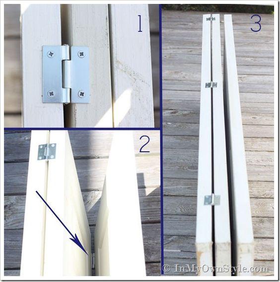Fabriquer un paravent en bois soi-même | BricoBistro