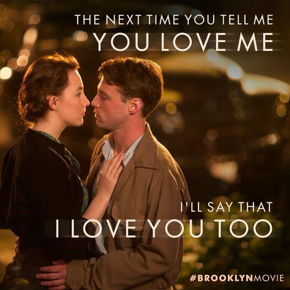 Brooklyn   Saorise Ronan   Love this movie.