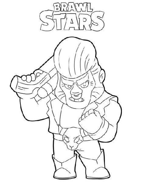 Brawl Stars Coloring Pages Children For Coloring Pages Brawl Children Coloring Pages Stars Boyama Kitaplari Boyama Sayfalari Cizimler