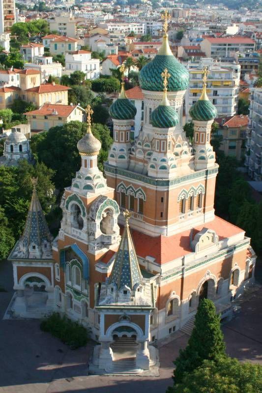Nice, église Russe © CRT Riviera Côte d'Azur - Photographe : Pierre BEHAR #visitcotedazur