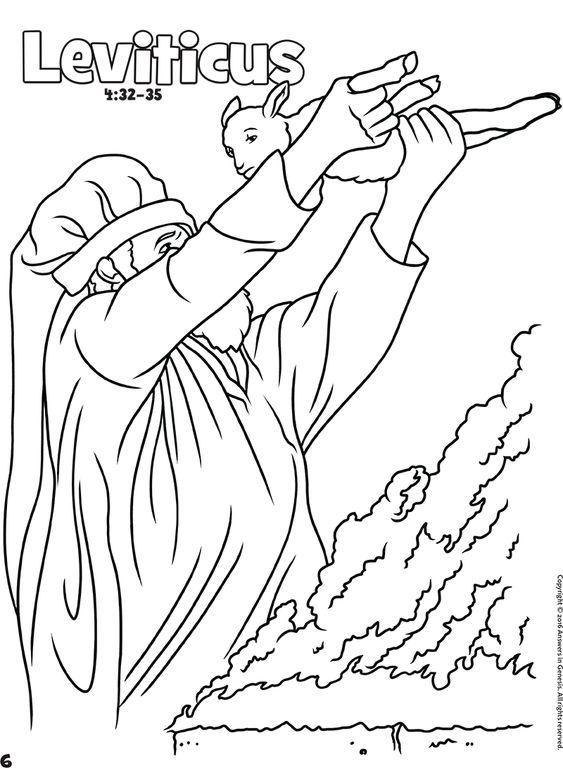 Haggai Coloring Page