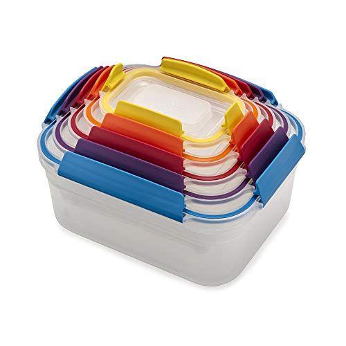 Joseph Joseph 81098 Nest Lock Plastic Food Storage Container Set