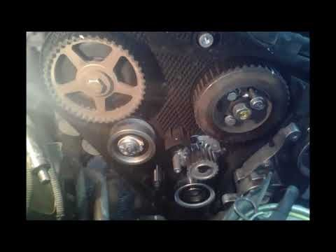 Diy Skoda Octavia 1 9tdi How To Replace Timing Belt Timing Belt