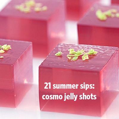 Jello shots, Jello and Strawberry champagne on Pinterest