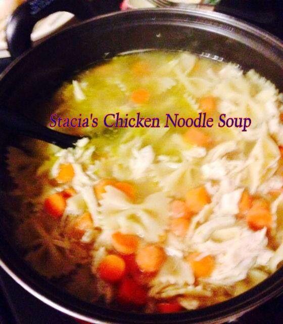 Stacia's Chicken Noodle Soup