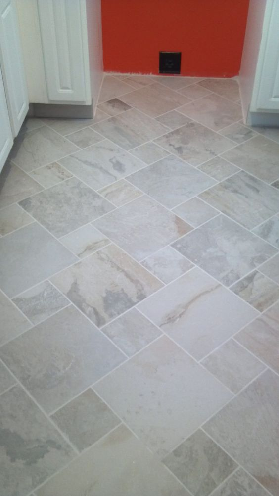 Ivetta white porcelain tile lowes house pinterest laundry room tile pinwheels and patterns - Lowes floor tiles porcelain ...