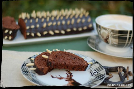 "The Kitchen Lioness: ""Rehrücken"" (Austrian/German traditional Chocolate Almond Cake)"
