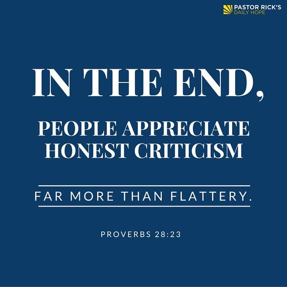 "The longer you're in an unhealthy dating relationship, the more difficult it's going to be to get out of it. Learn more in this devotional from Pastor Rick's Daily Hope.  Proverbs 28:23 says, ""In the end, people appreciate honest criticism far more than flattery"" (NLT, second edition)."