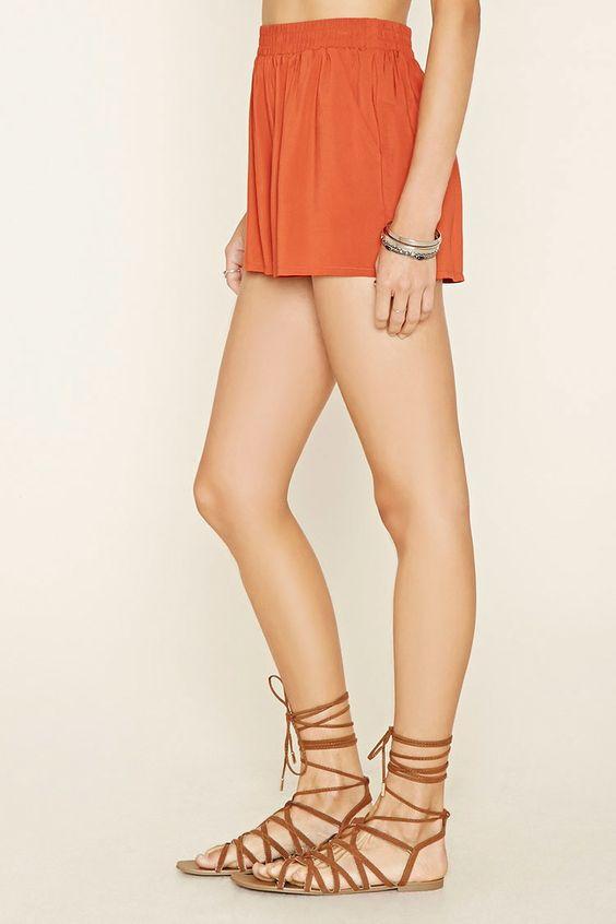 Boxy Woven Shorts