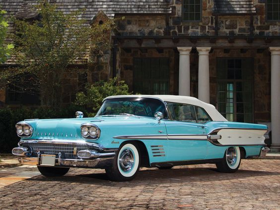 1958 Pontiac Bonneville 'Tri-Power' Convertible