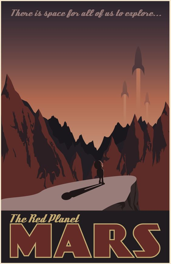 Vintage Travel Poster by Joey Gessner, via Behance