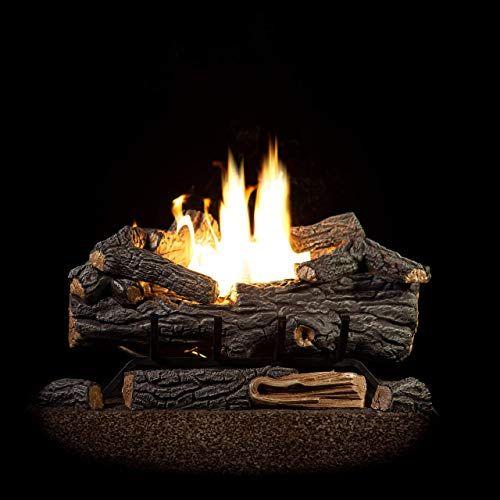 New Sure Heat Rs30vftng Gas Fireplace Logs 30 Oak Online