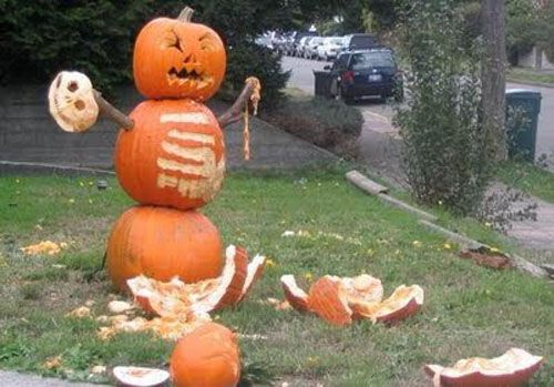 Funny, Scary, Weird, and Just Plain Wrong Pumpkin Carvings - Dose ...