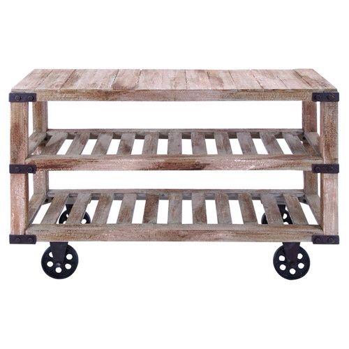 Farm meets industrial wheeled cart