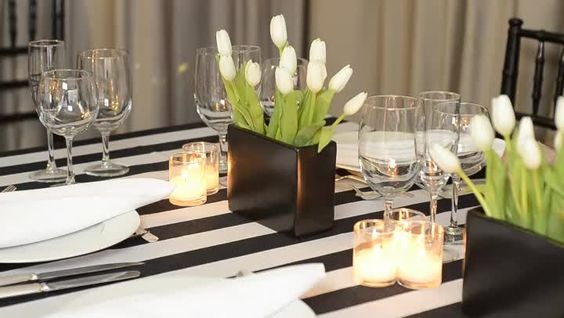 Throwing a black and white themed anniversary party is easy, so long as you always remember a few basic tips. Learn how to throw a black and white themed anniversary party with help from an event...