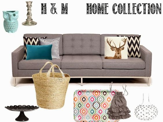 H&M Home Collection. LOVE! A Blissful Abode.