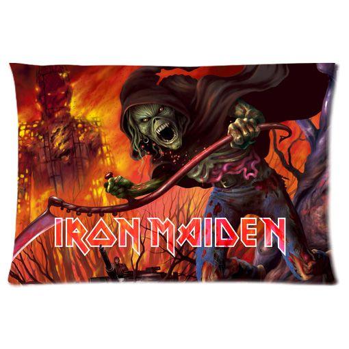 Iron Maiden Pillow Case Cover 001 Pillow Cases Pillows Cover