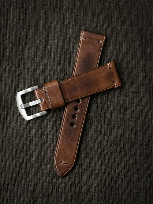Leather Diy Watch Strap Tutorial Leather Watch Bands Watch Bands