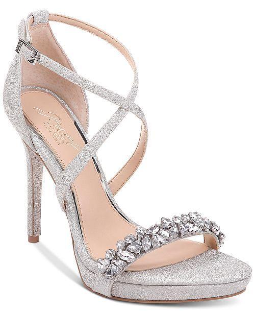 Jewel badgley mischka, Evening sandals