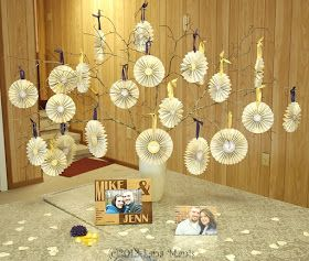 Honeysuckle Lane: Simple Wedding Shower Decorations