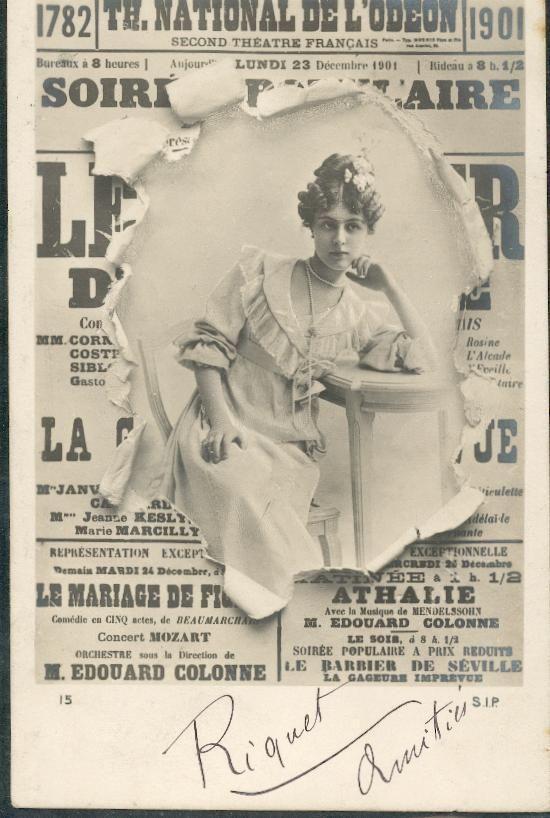 Mylo D'Arcylle | THEATRE NATIONAL DE L ODEON - Delcampe.net