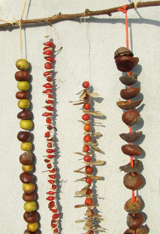 füzérek termésekből